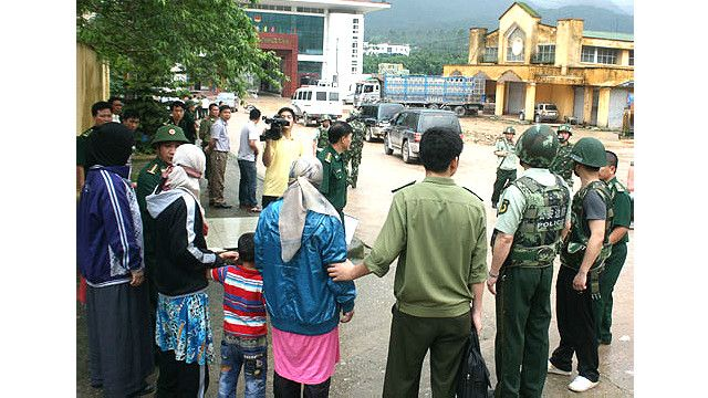 Tra trả người Trung Quốc ở Quảng Ninh