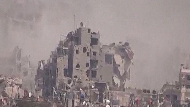 دمار جراء الاشتباكات في سوريا