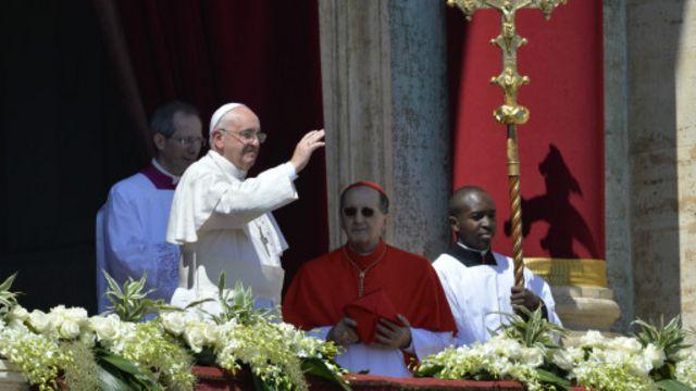 Papa, Paskalya mesajında Ukrayna ve Suriye'ye değindi