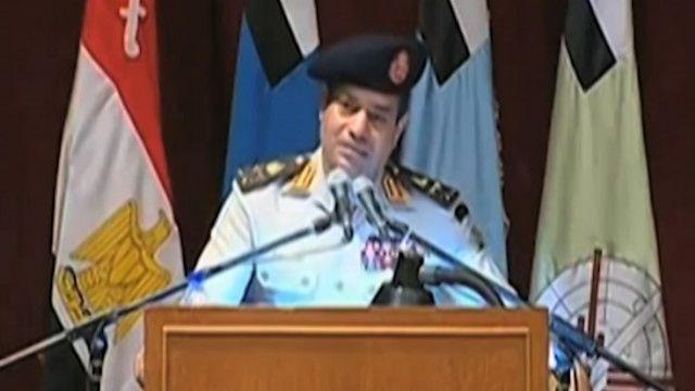 عبد الفتاح السيسي مرشح الانتخابات الرئاسية في مصر