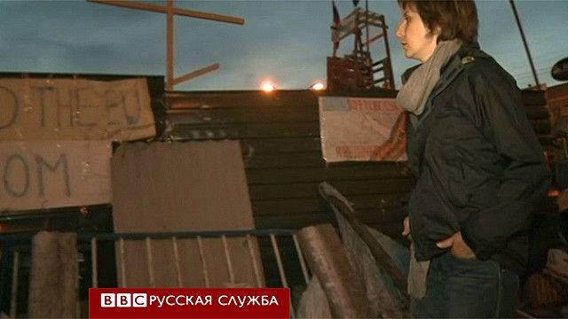 Наталья Антелава в Луганске