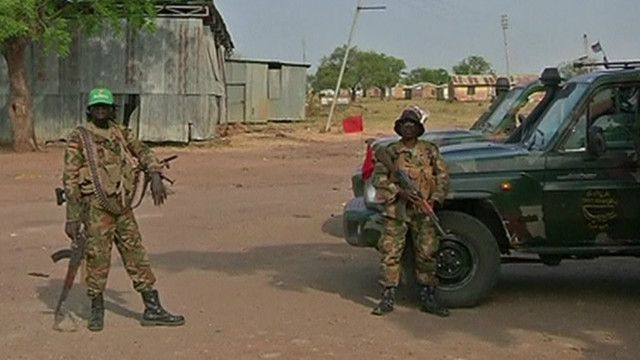 جنود من جيش جنوب السودان