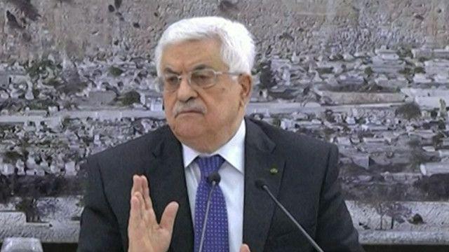 محمود عباس الرئيس الفلسطيني