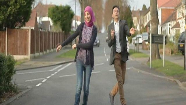 مسلم ومسلمة من بريطانيا