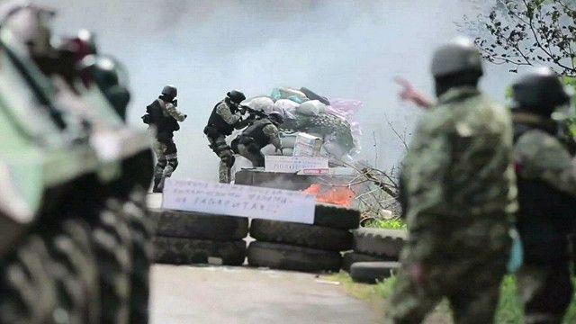 На востоке Украины