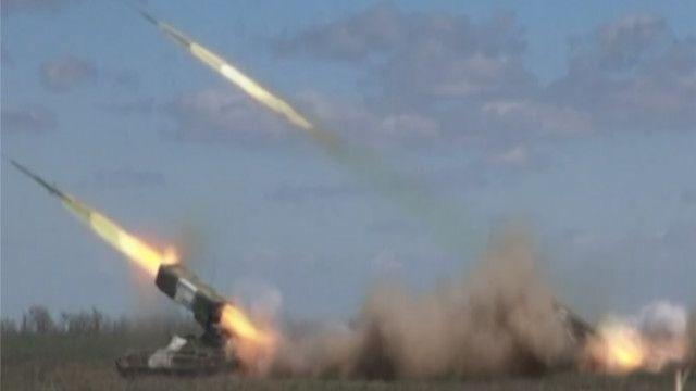 قاذفات روسية على الحدود مع اوكرانيا