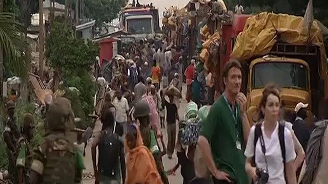 لاجئون في بانغي