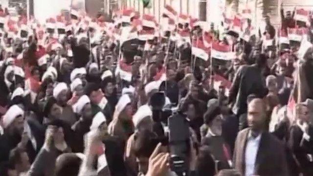 تظاهرة للشيعة في العراق