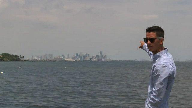 Windsurfista cubano, Jorge Armando Martinez