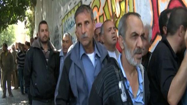 عمال فلسطينيون في قطاع غزة