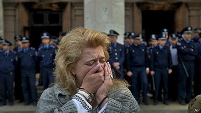 Ucrania: rabia y frustración por 42 muertos en Odesa