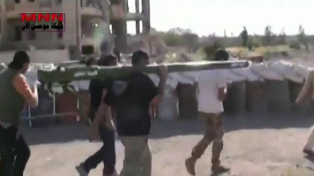 مقاتلوا المعارضة في حمص