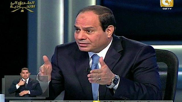 عبد الفتاح السيسي المرشح للرئاسة المصرية