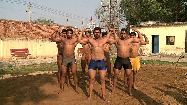 Luchadores libres en India