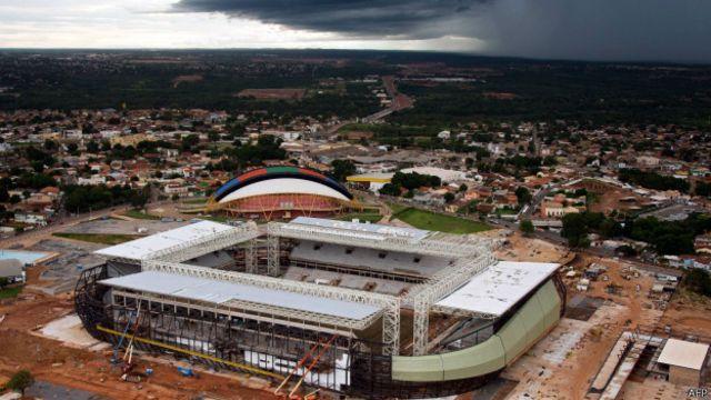 Com morte na Arena Pantanal, um terço dos estádios da Copa têm fatalidades