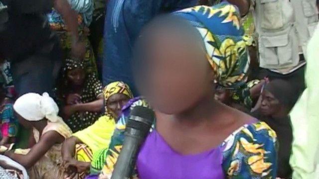 Menina conseguiu fugir após sequestro coletivo por Boko Haram | Crédito: BBC