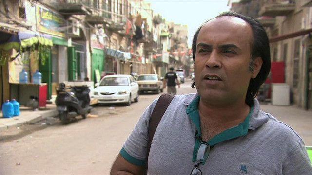 أحمد السعداوي روائي عراقي