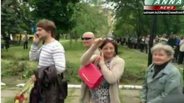 ناخبون من شرق أوكرانيا