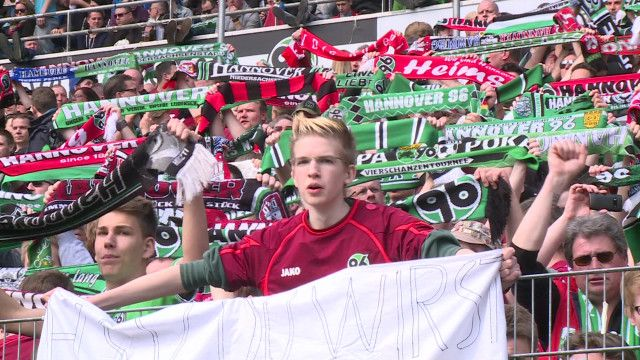 Torcida do Hannover 96. Foto: BBC Brasil