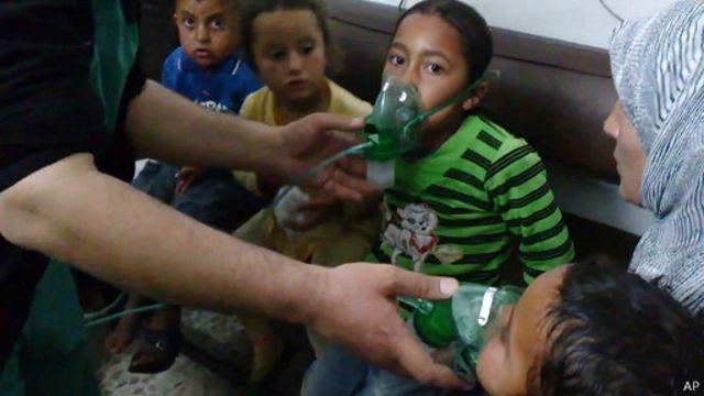 """""""أدلة قوية"""" على استخدام القوات السورية غاز الكلور"""
