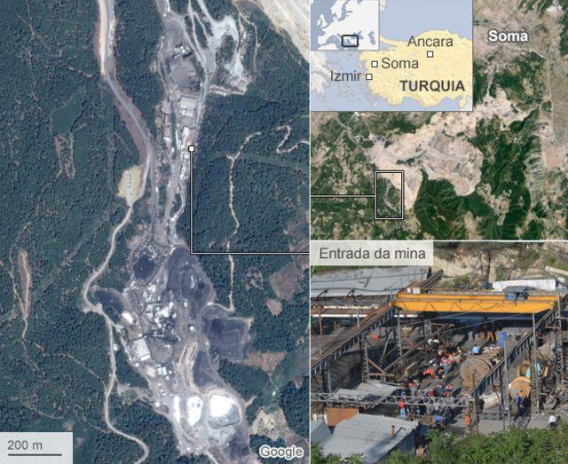 Após desastre em mina, milhares de turcos protestam contra o governo