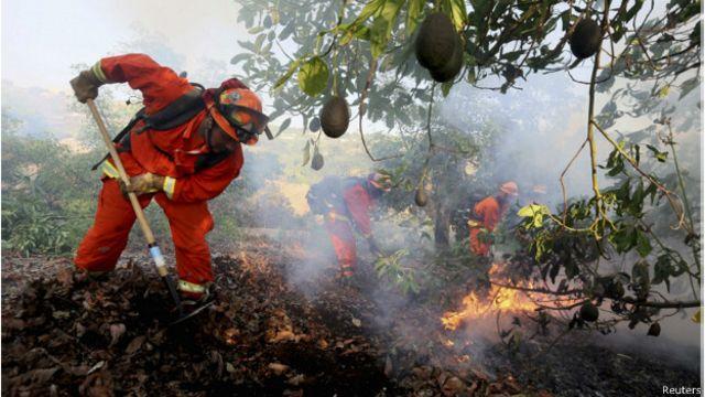 Declaran estado de emergencia en San Diego, California, por los incendios