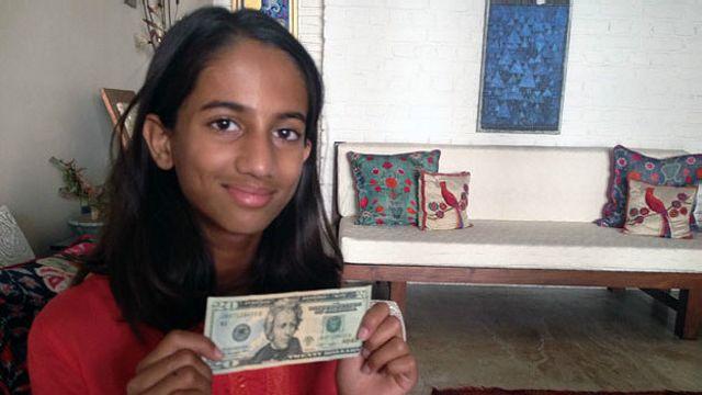La niña que le ofreció dinero al Banco Central para salvar la economía