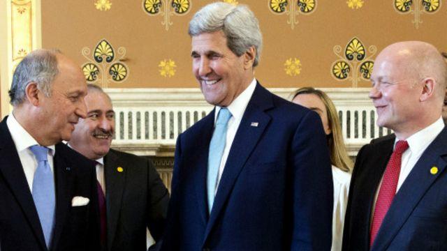 مجموعة أصدقاء سوريا: اجتماع لندن يقرر زيادة دعم المعارضة المعتدلة