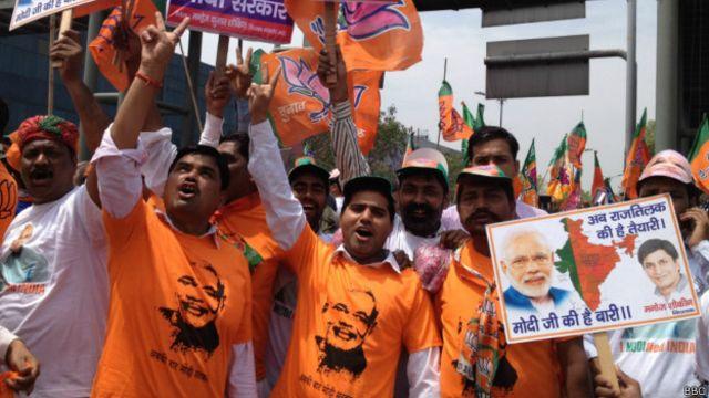 Índia elege direita na esperança de reanimar economia
