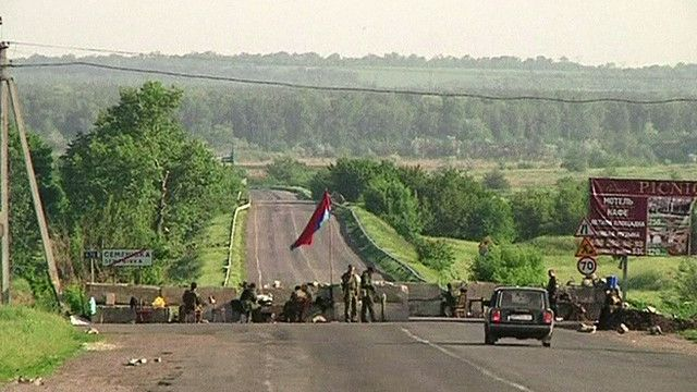جنود اوكرانيون