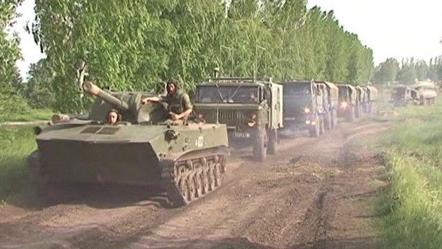 القوات الروسية تنسحب من الحدود الروسية الأوكرانية