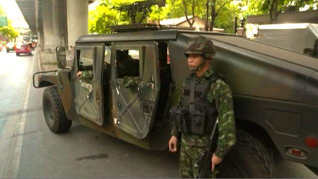 Военный в Бангкоке