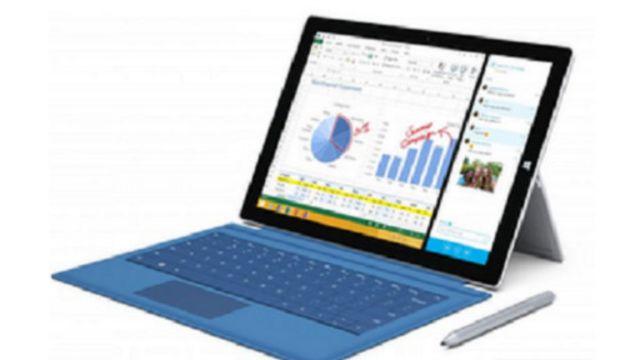 مايكروسوفت تطلق جهازا لوحيا ينافس الكمبيوتر المحمول