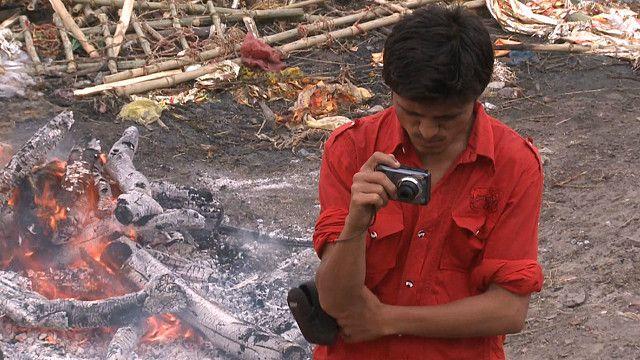 Fotógrafo de la muerte en India