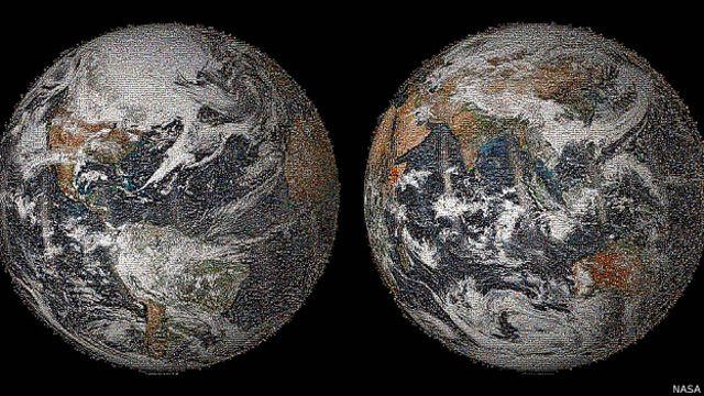 """La NASA publica """"selfie mundial"""" que conmemora el Día de la Tierra"""