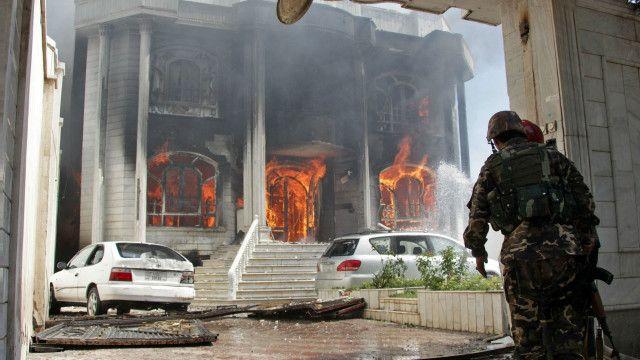 ஆப்கானில் இந்திய துணைத் தூதரகம் மீது தாக்குதல்