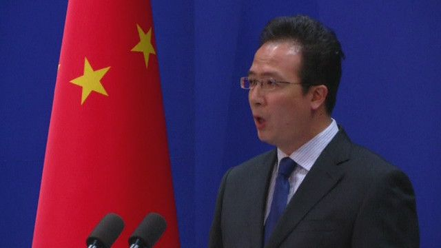 Phát ngôn viên Bộ Ngoại giao Trung Quốc, ông Hồng Lỗi