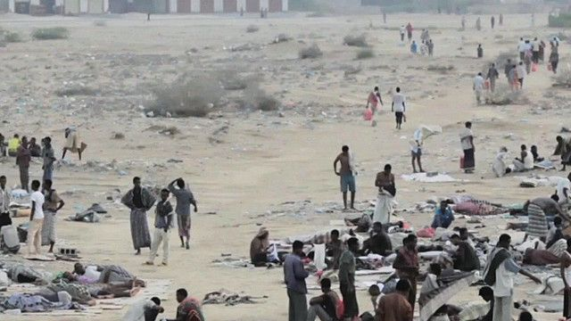 معسكرات للمهاجرين في اليمن