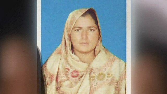 إمرأة باكستانية