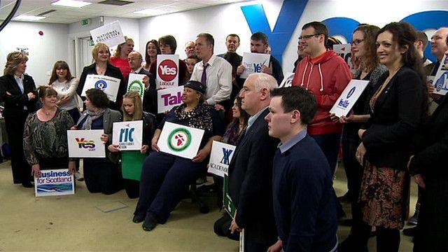 بدأ الحملة الرسمية لاستقلال اسكتلندا عن المملكة المتحدة