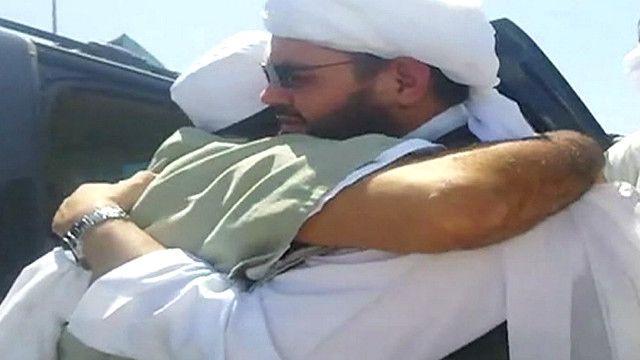 Prisioneros liberados del Talibán