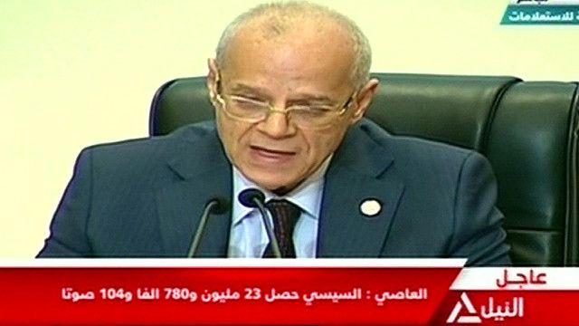 رئيس اللجنة العليا للانتخابات الرئاسية في مصر