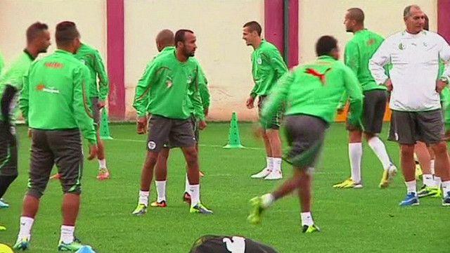 جزء من الفريق المنتخب الجزائري