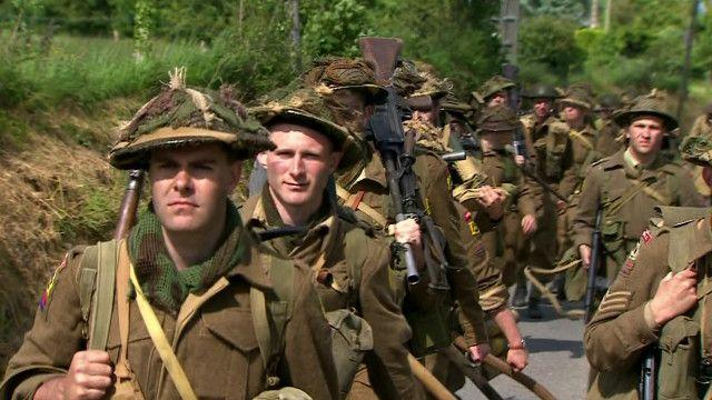 Памятные мероприятия в Нормандии