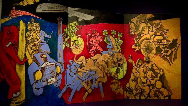 عالم الفن: بيكاسو الهند في معرض بلندن