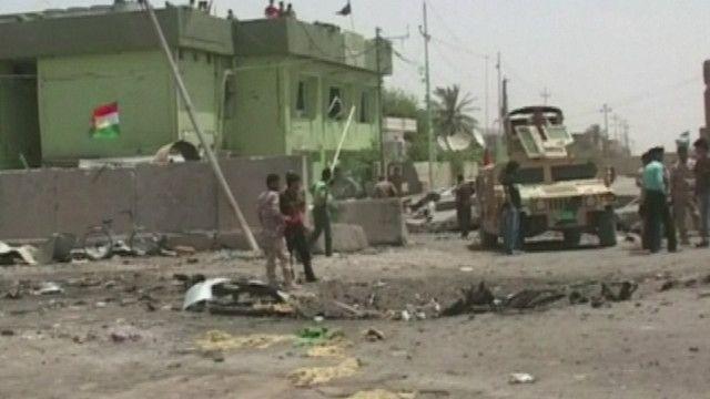 أثار الانفجار في العراق