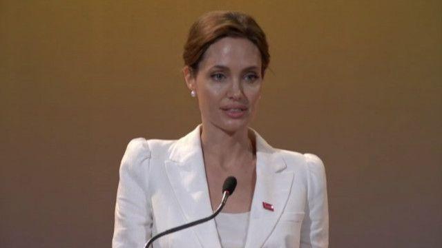 Анджеліна Джолі, самміт, відео