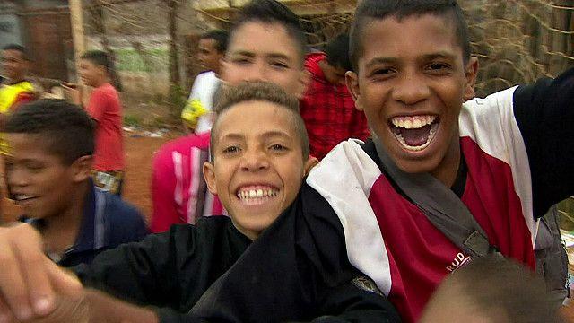 Подростки в Сан-Паулу
