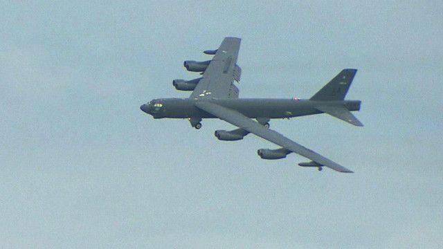 طائرة الشبح الامريكية B-52S