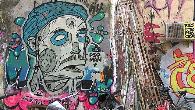 दिल्ली में स्ट्रीट आर्ट